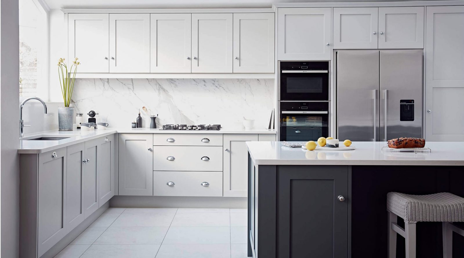 Choosing The Right Size Tiles For A Small Kitchen Kitchen Wall Tiles Cape Town Tilespace Cape Town Tilespace