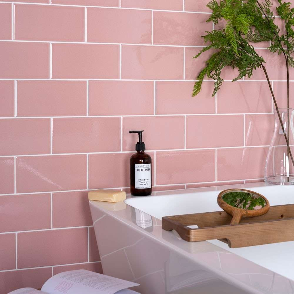 Pretty in pink - Bathroom Tiles Cape Town Tilespace