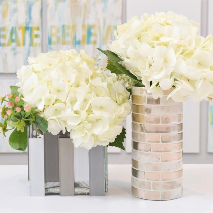 DIY Tile Vases