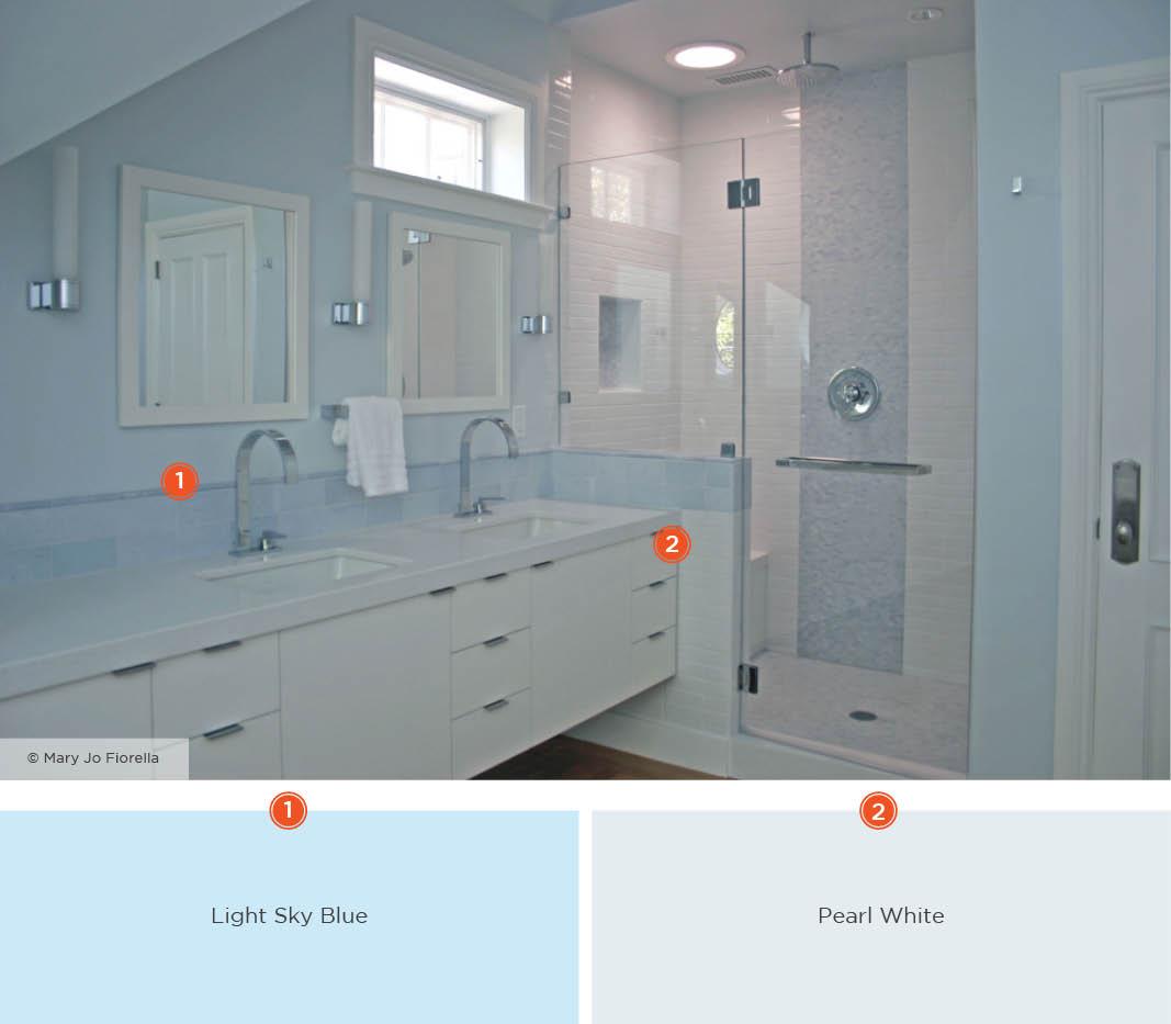 Relaxing Bathroom Color Schemes