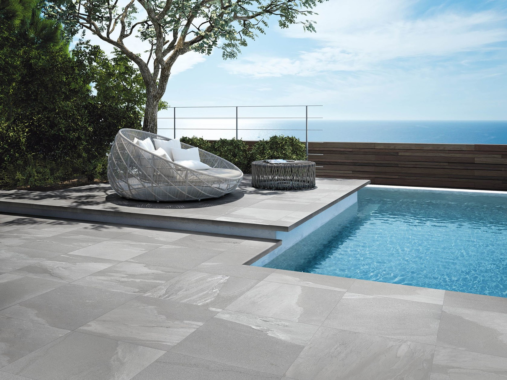 Porcelain tiles are beautiful Outdoor