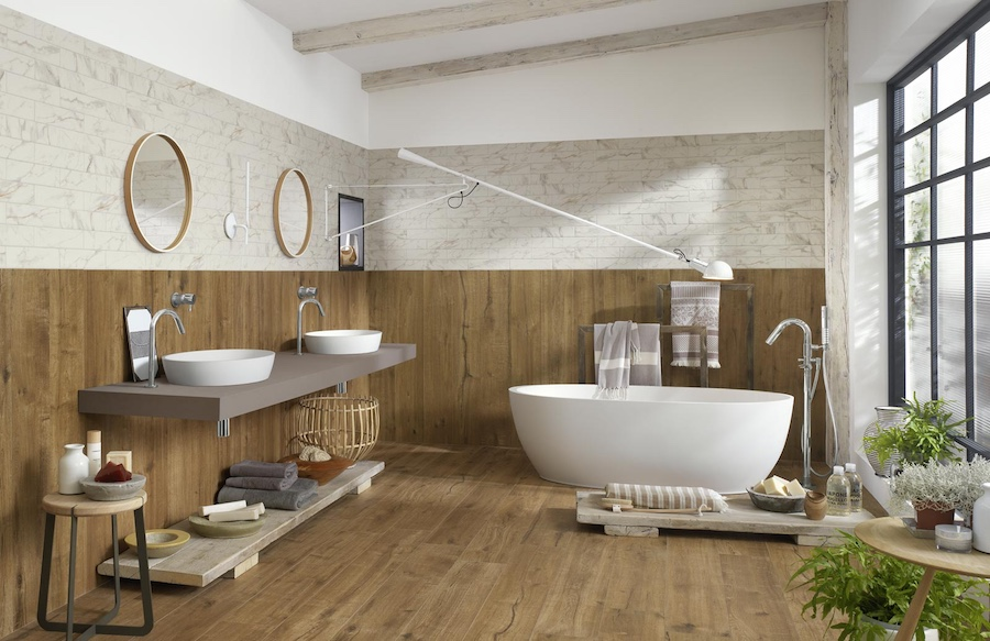 Why wood-effect tiles are the perfect for Kitchens & Bathrooms – Tiles Cape Town