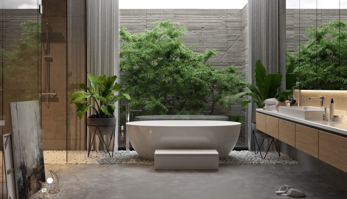 A New And Modern Bathroom For A New Experience